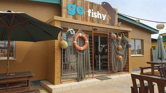 Hentiesbaai, Namíbia: Go Fishy
