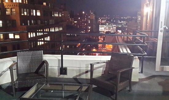 TRYP New York City Times Square South: ממרפסת הגג