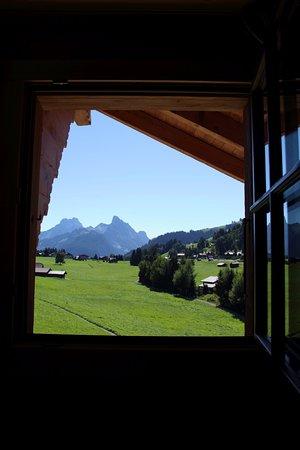 Romantik Hotel Hornberg: Sicht aus dem Zimmer im Dachgeschoss