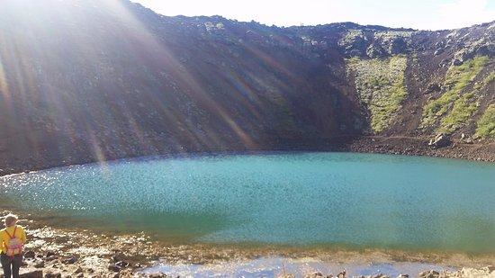 Selfoss, Island: Sunny Day visit to Kerid