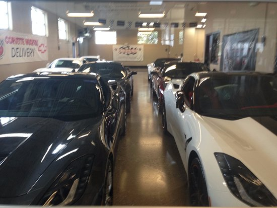 Bowling Green, KY: New cars off the line.