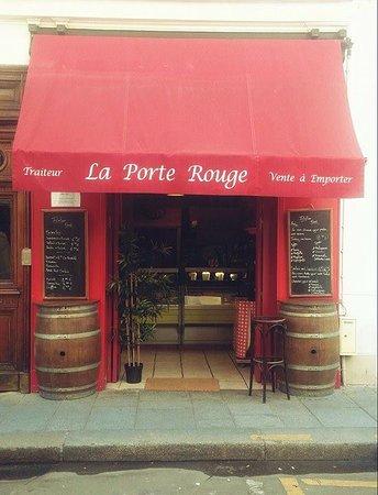 La Porte Rouge Paris Ile De La Cite Ile Saint Louis