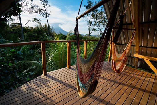 Balgue, Nicaragua: Balcony with a view in the Volcano View Luxury Suite