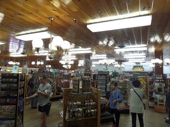 one of the many stores in the Wall Drug emporium