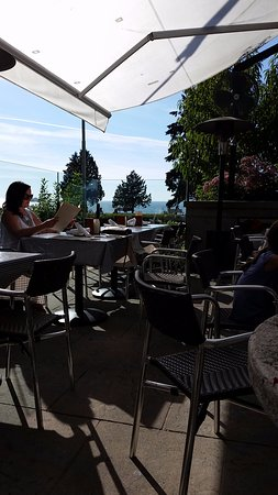 Teahouse in Stanley Park: patio view