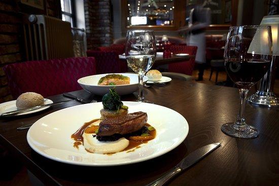 Holiday Inn Glasgow City Centre Theatreland: Restaurant