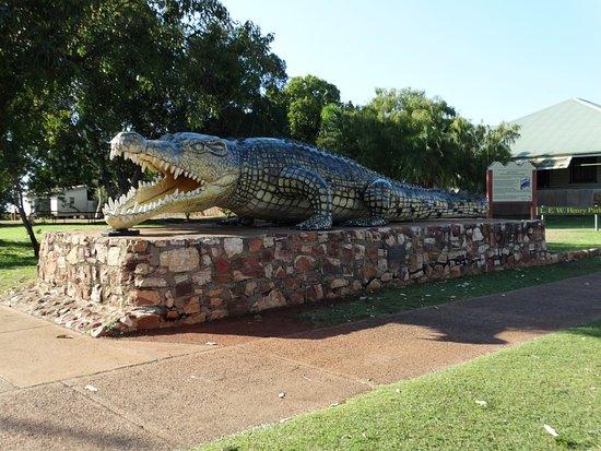 "Normanton, أستراليا: ""Krys"" the worlds largest crocodile"