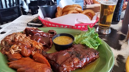 Grand Lake, CO: Name your own BBQ platter