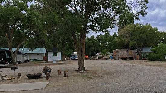 Whispering Elms Motel, Campground, & RV Park: View from the porch