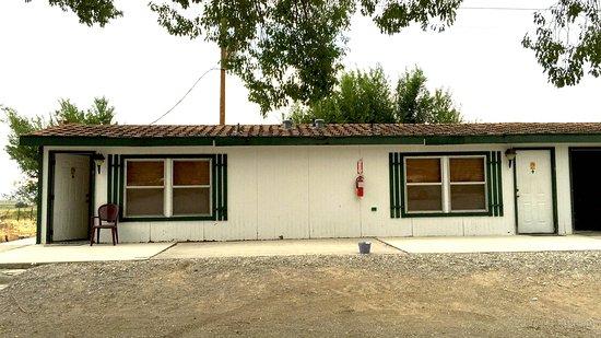Baker, NV: The front door.