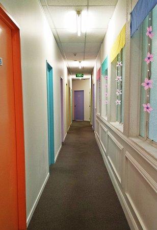 BK Hostel: Hallway