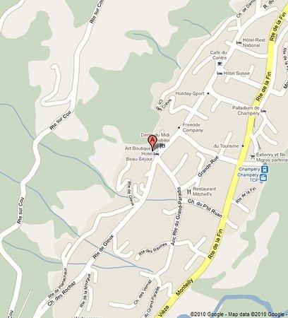 Champery, Szwajcaria: Location