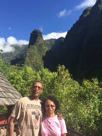 Wailuku, Hawaï: Iao viewpoint