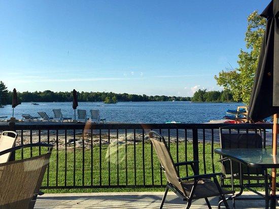 Muskoka District, Kanada: Window Table View