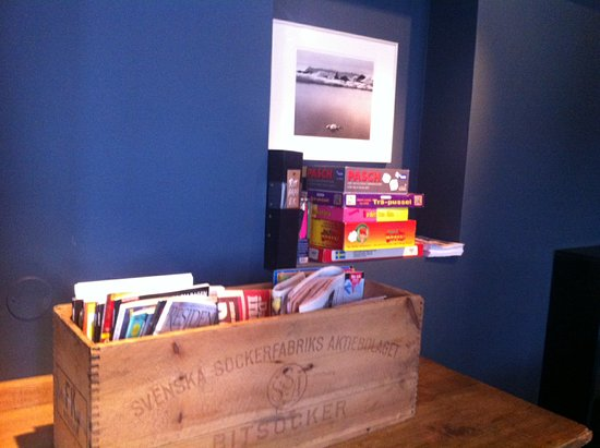 Mornington Hotel Stockholm Bromma: books and games