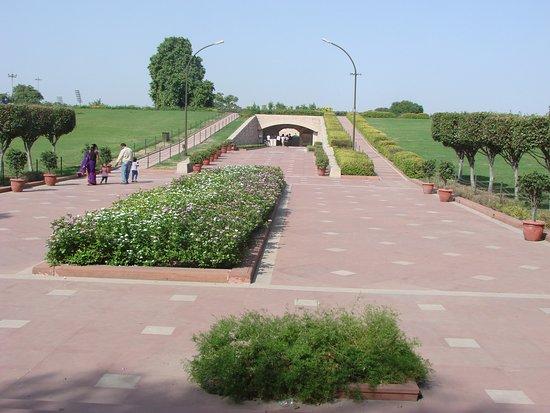 Taman Gandhi Smriti: Acceso