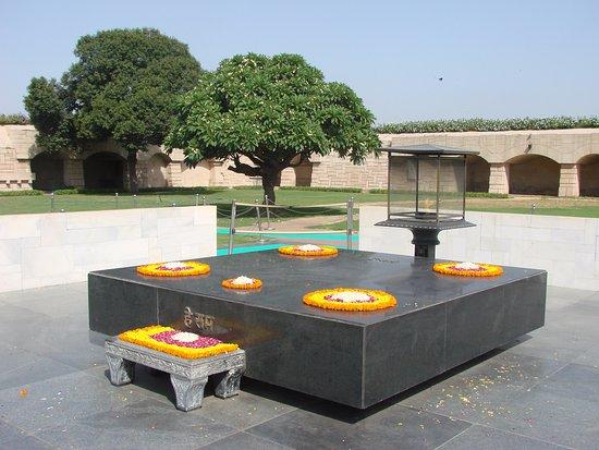 Taman Gandhi Smriti: Perspectiva