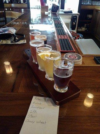 Onalaska, WI: beer sampler