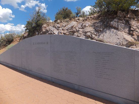 St. George, UT: Another view of the memorial stone