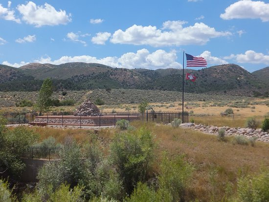 St. George, UT: Mountain Meadows Memorial Site from a distance