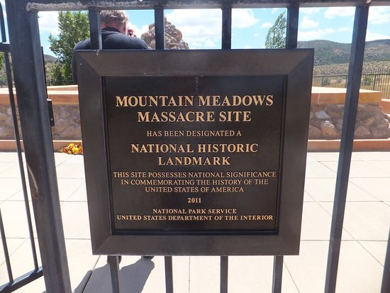 St. George, UT: Sign of the Mountain Meadows Massacre Site