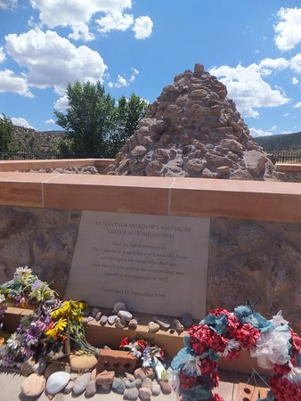 St. George, UT: Closer view of the Mountain Meadows Massacre Site