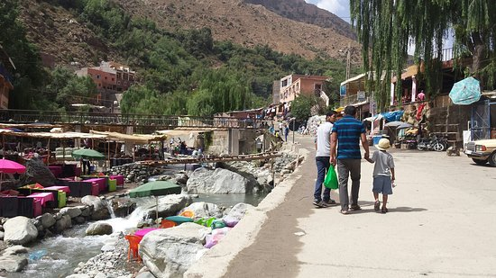 Marrakech-Tensift-El Haouz Region, Marokko: High Atlas Mountains