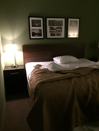 DeFuniak Springs, FL: King size bed (I removed the other 5 pillows)