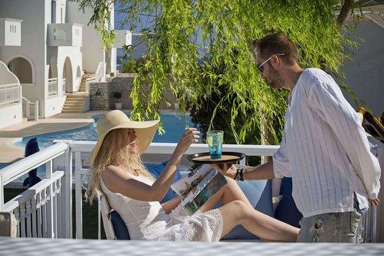 Agios Prokopios, Yunani: Bar/Lounge