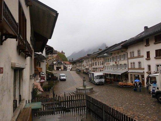 La Gruyere, Ελβετία: El pueblo