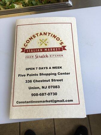 Union, NJ: Constantino's Italian Market