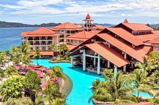 Sutera Harbour Resort (The Pacific Sutera & The Magellan Sutera): Aerial Pool at The Magellan Sutera Resort