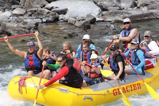 West Glacier, MT: We survived!