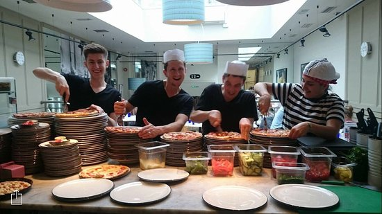 Great Team Picture Of Pizza Express Witney Tripadvisor