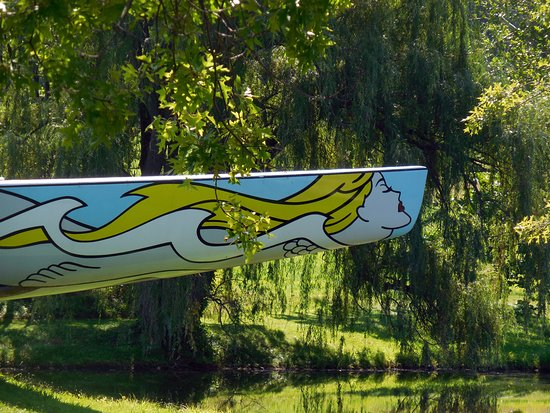 New Windsor, NY: American's Cup Racing boat..the Mermaid