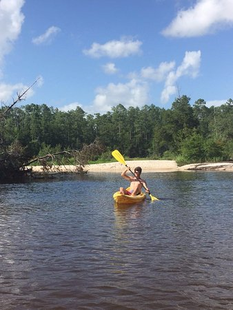 Blackwater River State Recreation Area: you can kayak