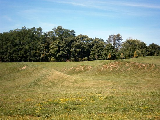 New Windsor, NY: More Maya Lin's WAVES of earth some several feet high