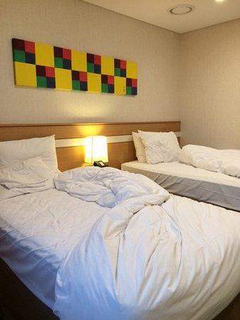 Tmark Hotel Myeongdong: ベッド