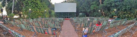 Deckchair Cinema : Taken early before it packed out.