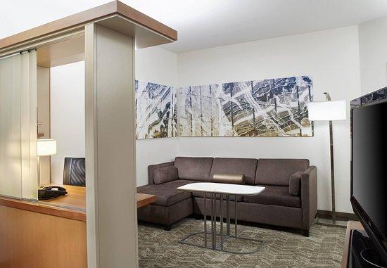 Waukegan, Ιλινόις: Suite - Living Area