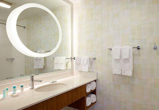 Waukegan, Ιλινόις: Guest Bathroom Area