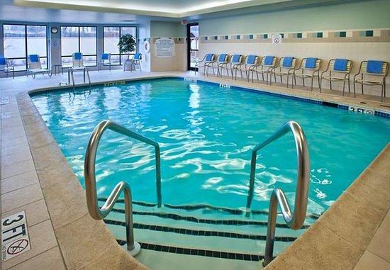 Paramus, نيو جيرسي: Indoor Pool