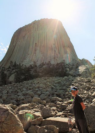 Devils Tower, WY: Let them climb!!
