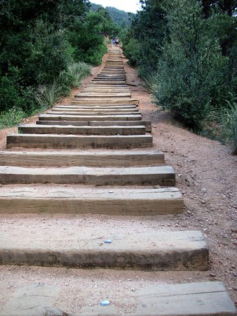 Manitou Springs, CO: The beginning of the Incline