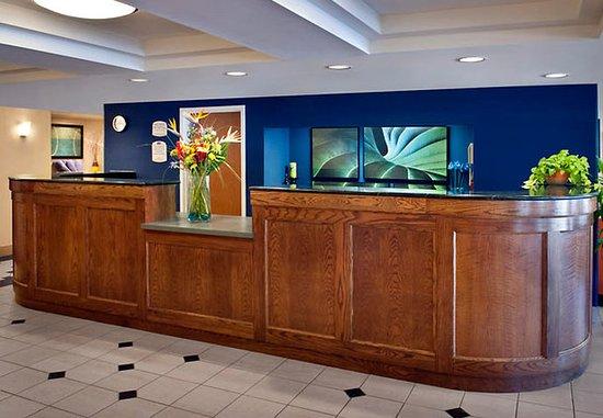 Amesbury, MA: Reception Desk