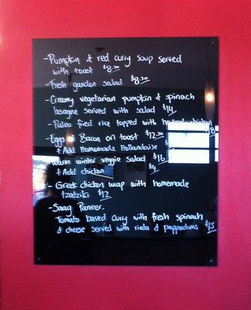 Devonport, Australien: Platyfish's interesting and unusual menu
