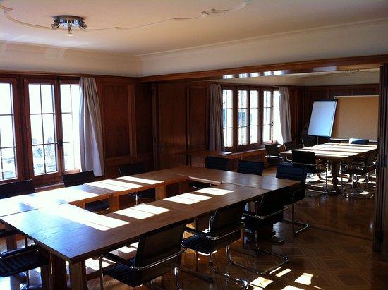 Twann, Switzerland: Meeting room