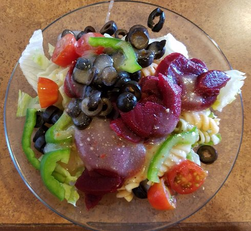 Howe, IN: Salad from Salad Bar
