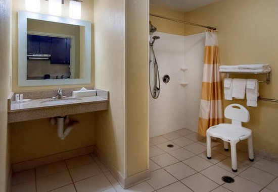 Jacksonville, Carolina del Norte: Accessible Guest Bathrooms