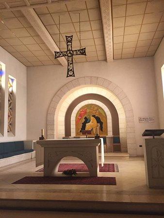 Church of Saint Peter in Gallicantu : O interior